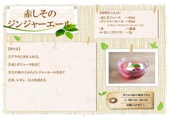 公開レシピ(赤しそジンジャー).jpg